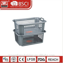 Plasitc stackable basket