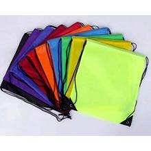 Customized wholesale cheap non woven drawstring bag