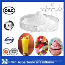 Fábrica de Abastecimento CAS106372-55 Powder Bulk Aspartame Acesulfame Nutrasweet