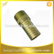 Galvanized steel king combination nipple with groove, kc nipple with groove
