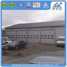 Prefabricated american style steel metal prefabricated garage