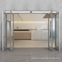T12 security Automatic sliding door or folding door for airport emergency exits
