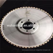 roda do perfil do sinter do diamante para a almofada de freio