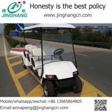 Venta caliente de 6 pasajeros adultos ir carro / carrito de golf con gran precio