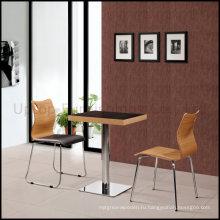 Фаст-фуд кафе Переклейки мебели стол и стул набор (СП-CT507)