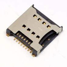 Carte SIM de 8 broches avec la broche de détection de commutateur par norme de GSM 11.11