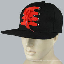 Make Custom Shoelace Front Snapback Cap