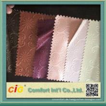 China Mode neue Design Pvc bunte Blume Tasche Leder