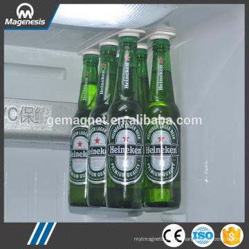 Aimant de bière, cintres magnétiques de bière / support pour la bière et les boissons, bandes magnétiques de réfrigérateur de stockage de bouteille de Bottleloft