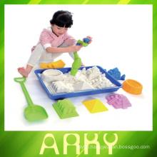 Kids plastic beach bucket toy Summer sand set