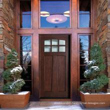 Hot Sale Craftsman Solid Wood Exterior Doors