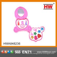 Новый дизайн детей игрушки косметический пластиковый набор макияжа набор