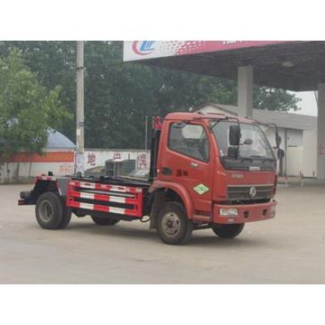 Dongfeng 4CBM Container Hook Lift Garbge Truck