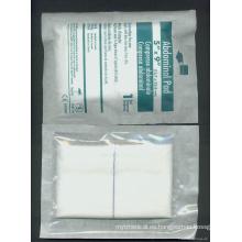 Almohadilla abdominal de gasa estéril de algodón quirúrgico (XT-FL060)