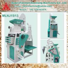 Nouveau design entièrement automatique meilleur prix mini riz moulin