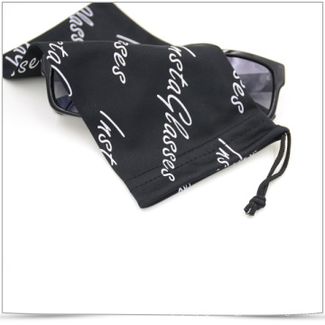 Single-Side Soft Drawstring Microfiber Eyeglasses Bag