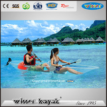 Double/Single Seaters High Quality Transparent Kayak for Sale