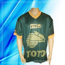 100% Polyester Man′s Short Sleeve Motor Wear