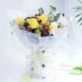Waterproof transparent flower cellophane wrapping paper