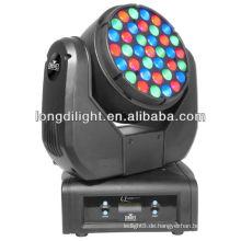 Guangzhou longdi Licht 37 * 3w RGB führte waschen beweglichen Kopf Licht Preis