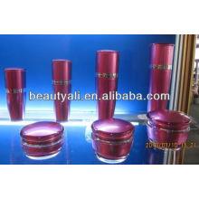 Mushroom empty cosmetic packaging acrylic jar