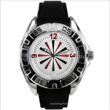 Quarz-Mode-Sport-Silikon-Uhr als Geschenk