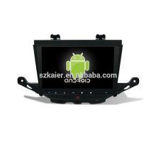 Vier Kern! Auto-dvd Android 6.0 für BUICK ASTRA K mit 9 Zoll kapazitivem Schirm / GPS / Spiegel-Verbindung / DVR / TPMS / OBD2 / WIFI / 4G