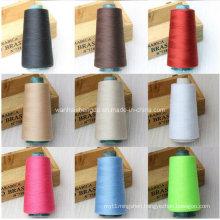China Supplier Dyed Melange Polyester Spun Yarn