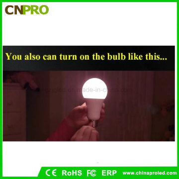 Plastik beschichtetes Aluminium Notfall LED Birne Licht 7W