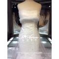 1A205 Sexy Sheath Wipe A Bosom Sequin Trailing Wedding Dress Bridal Dress