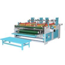 Semi automatic press type folder gluer machine for corrugated carton box making machine press pasting box  machine