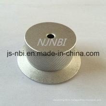 Capuchon en fonte d'aluminium / moulage sous pression pour porte-linge