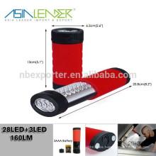 Lámpara de la inspección del líder de Asia ligero, iluminación de la inspección del LED, linternas caseras de la inspección