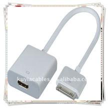 30P к HDMI с аудио для iPad 2 iPod iTouch iPhone 4G