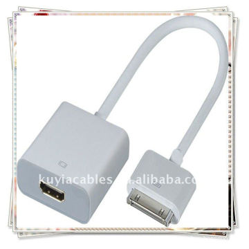 30P à HDMI avec audio pour iPad 2 iPod iTouch iPhone 4G
