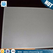 Custom stainless steel aluminum zirconium perforated metal sheet plate