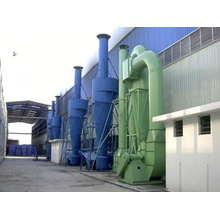 Diffused high efficiency cyclone dust collector