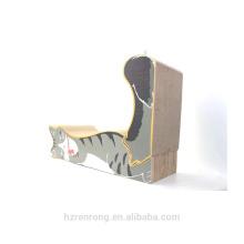 Atacado Fábrica Barato Cat Scratcher Board Papelão Gato Coçar Caixa ACS-6014