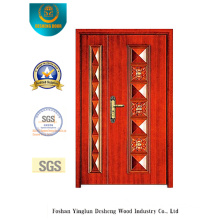 Classic Style Picture Door with Two Doors for Exterior (b-6013)