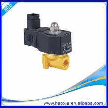 HAOXIA Válvula solenóide de água de 2 vias de latão 2W025-08