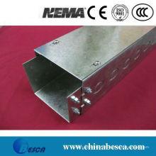 Prix de fabricant galvanisé de goulottes de fil en métal (UL, cUL, GV, CEI, CE)