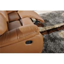 Canapé salon avec canapé moderne en cuir véritable (789)