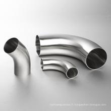 Raccords de tuyaux en acier inoxydable sanitaire en acier inoxydable