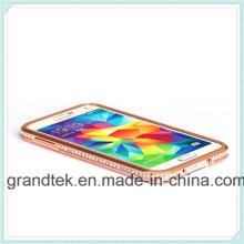 Venta caliente Bumper Case para Samsung Galaxy S5luxury Dimond Metal Bumper para Samsung Galaxy S5 Muchos colores