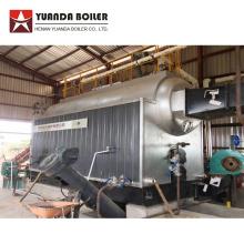 Chaudière à eau chaude au charbon et à la biomasse à granulés de bois