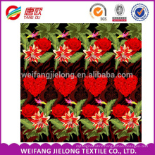 WEIFANG pigment reactive print cotton twill fabric for bed sheets