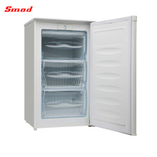 80-162L Chinese Upright Mini Portable Single Door Freezer