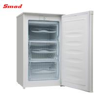 Congelador portátil de porta único vertical chinês 80-162L