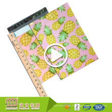 En gros auto-adhésifs coutume 10X13 pinapple / ananas concepteur Poly Mailers décoratifs Enveloppes