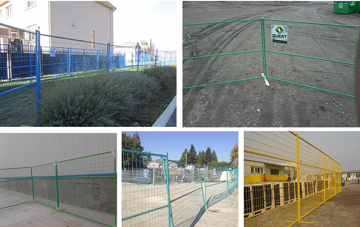 6ft x10ft Powder Coated Temporary Fence
